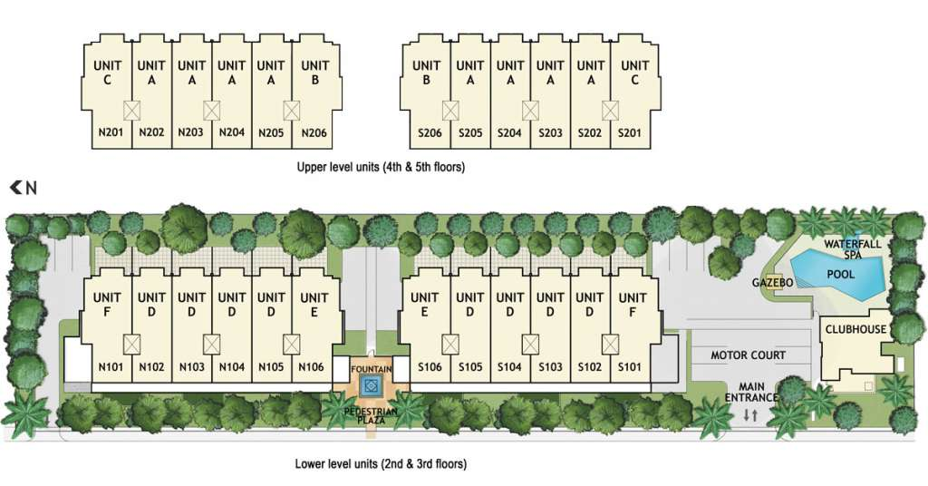 30 Thirty condominium unit reference plan